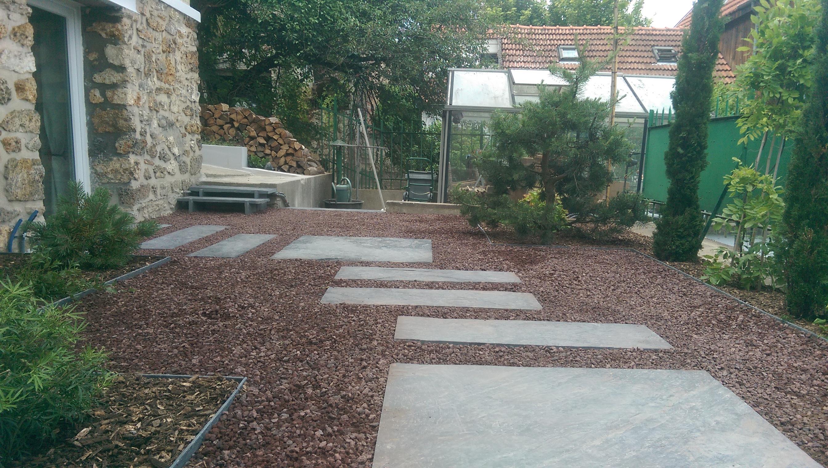 jardin en terrasse  Meudon