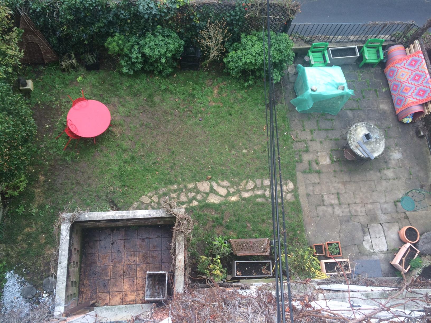 Etude et projet d aménagement d un jardin en terrasse  S¨vres