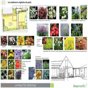 VICQ - ambiance végétale patio croquis 1