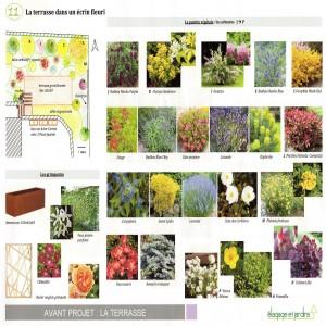 MARCQ - terrasse palette végétale
