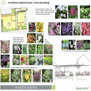VICQ - ambiance végétale patio croquis 2